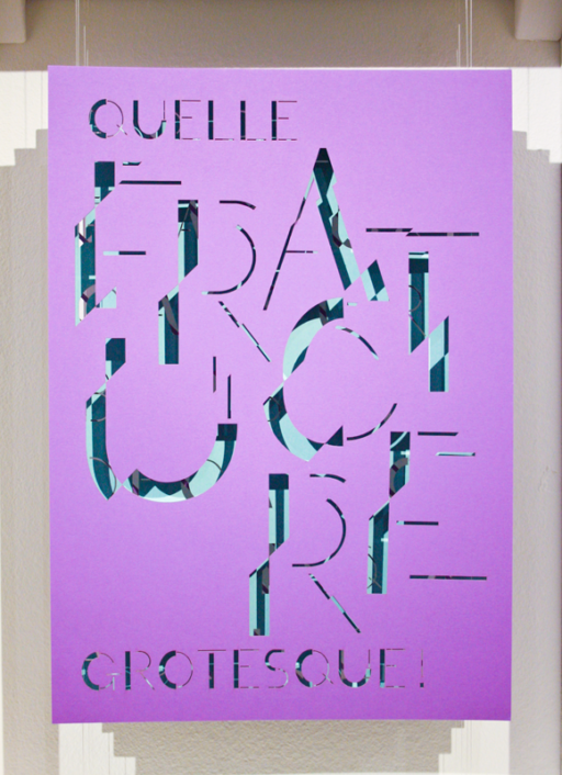 emmymarchesse Fracture grotesque